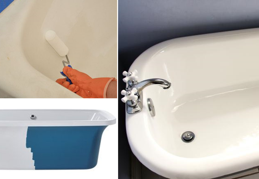 Renovate a bathtub - BnbStaging the blog