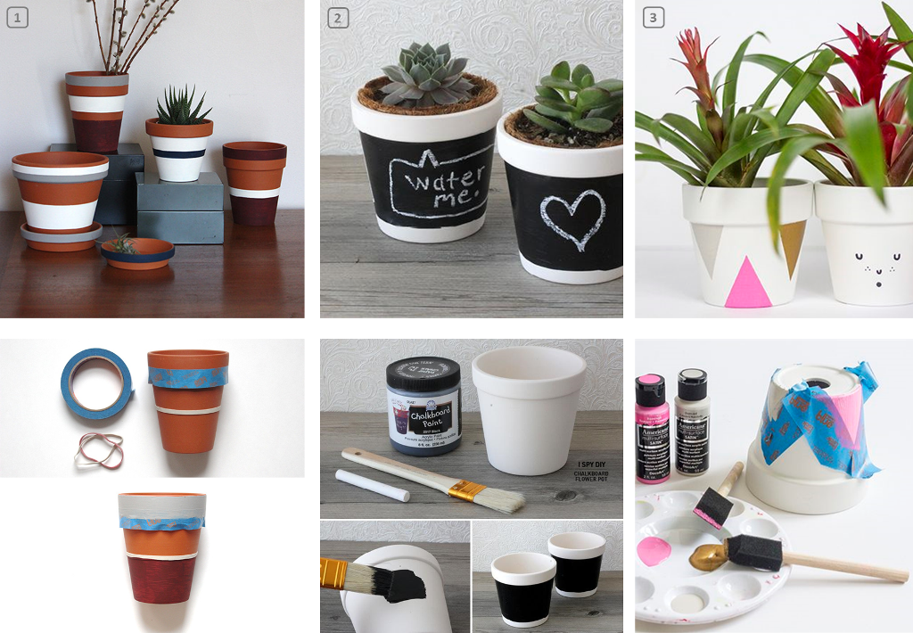 Personalize flower pots 3