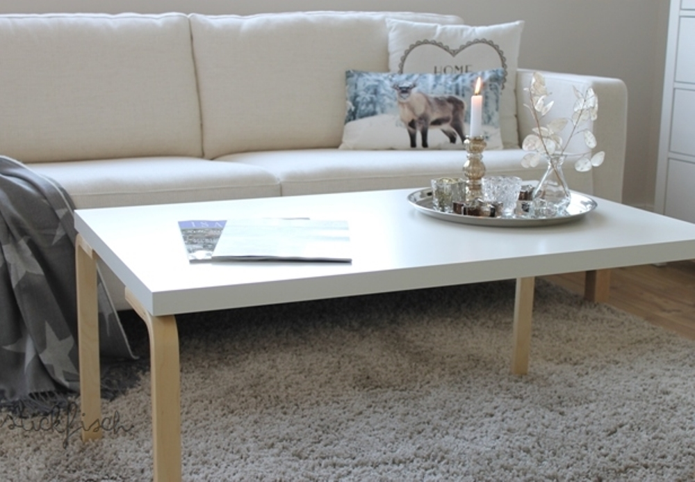 Coffee table from an Ikea hack, Bidouilles Ikea