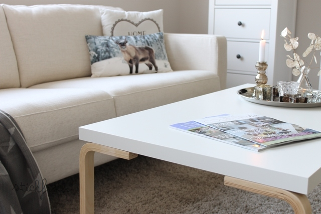 DIYed coffee table for under 20 euros, Bidouilles Ikea