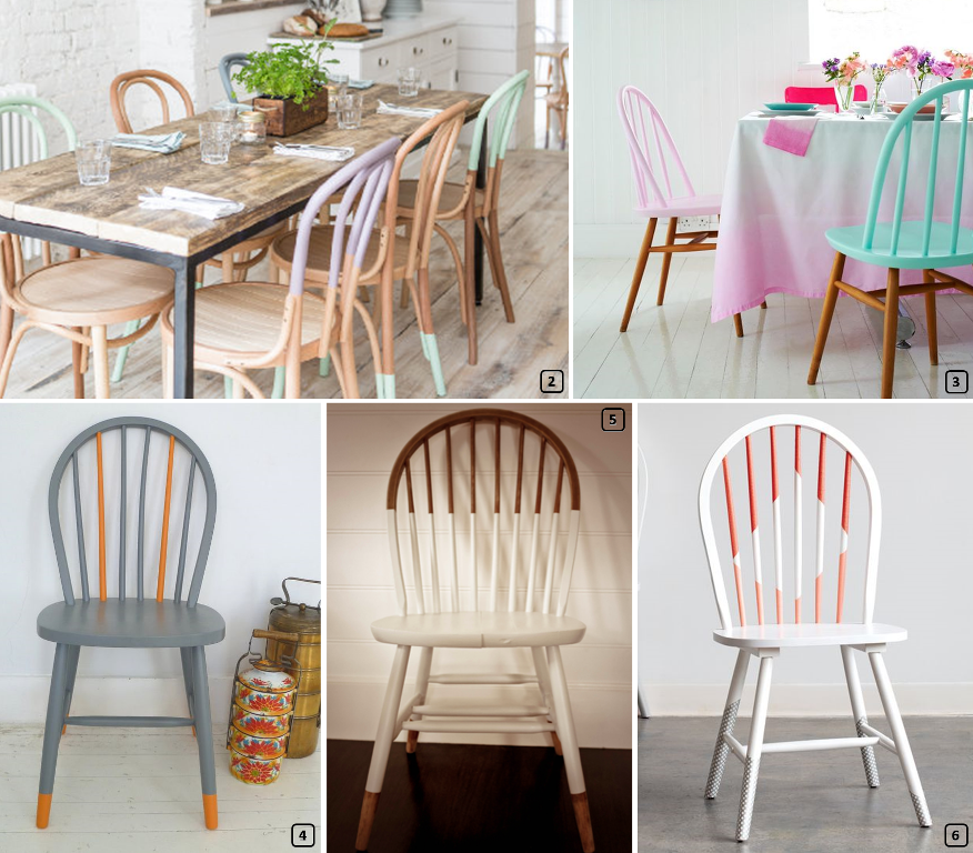 Makeover with bistro chairs