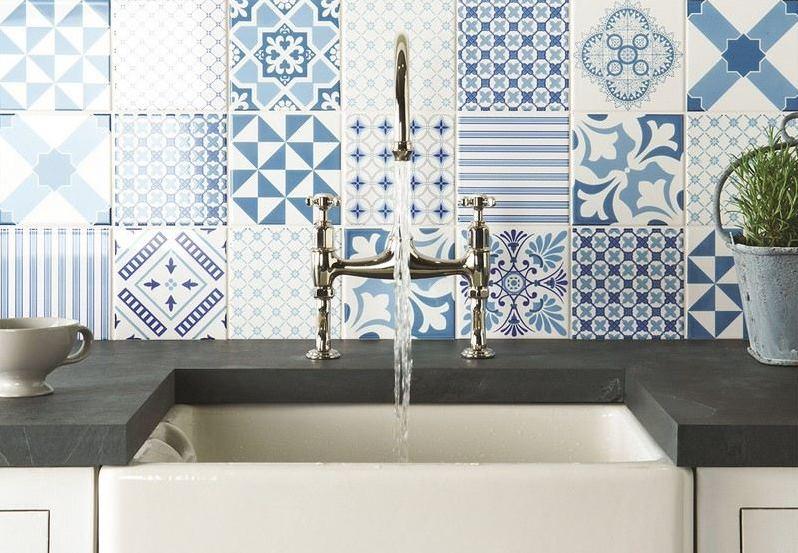 7 solutions for revamping your kitchen splashback. Black Bedroom Furniture Sets. Home Design Ideas