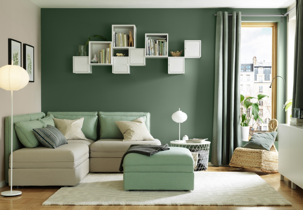 A feng shui living room in rentals bnbstaging le blog - Feng shui salon ...