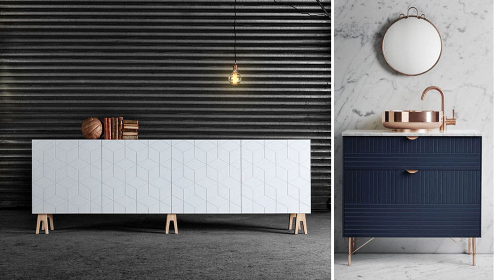 Superfront offers luxurious materials to customize Ikea furniture