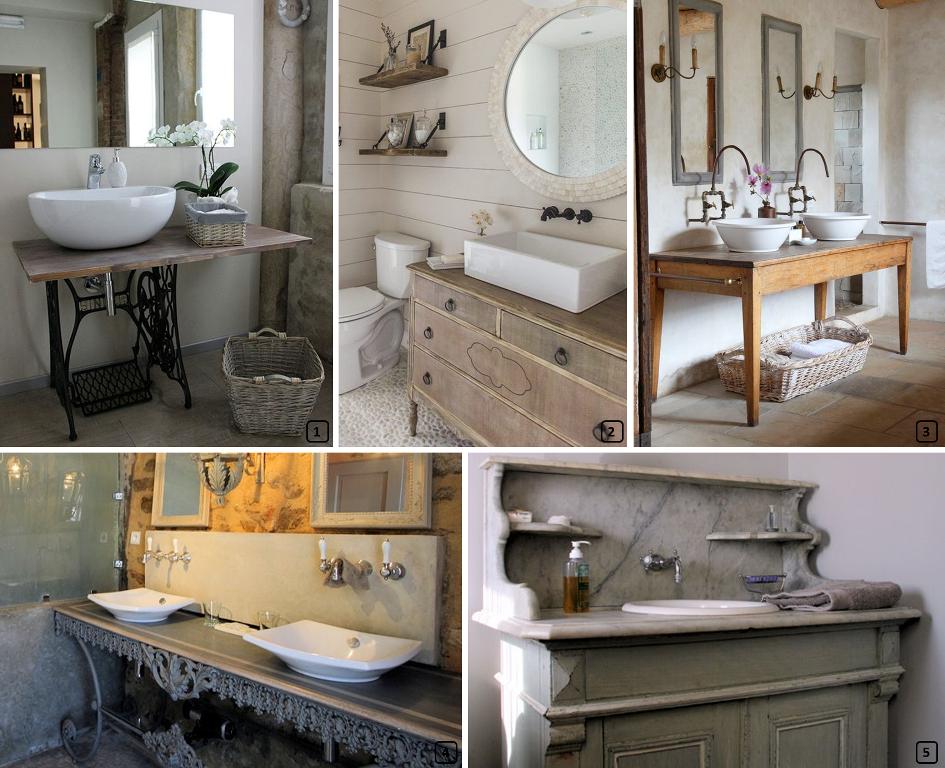 Ideas for unique repurposed vanity units bnbstaging le blog for Le meuble furniture