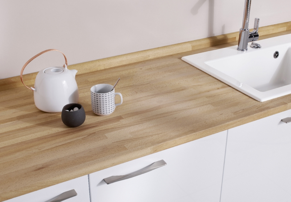 Lapeyre, wood counter tops