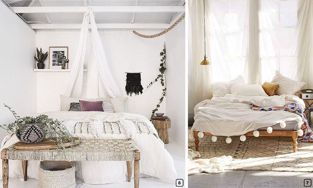Bohemianchic decoration a romantic room  BnbStaging le blog