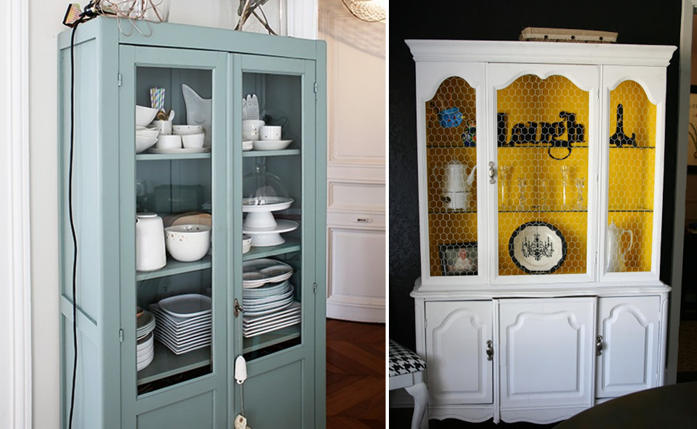 Customized china cupboards