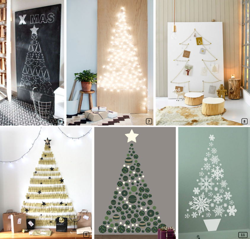 Creative and eco-friendly christmas trees for rentals