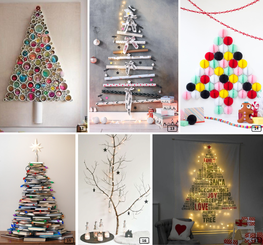 DIY projects for creative Christmas trees