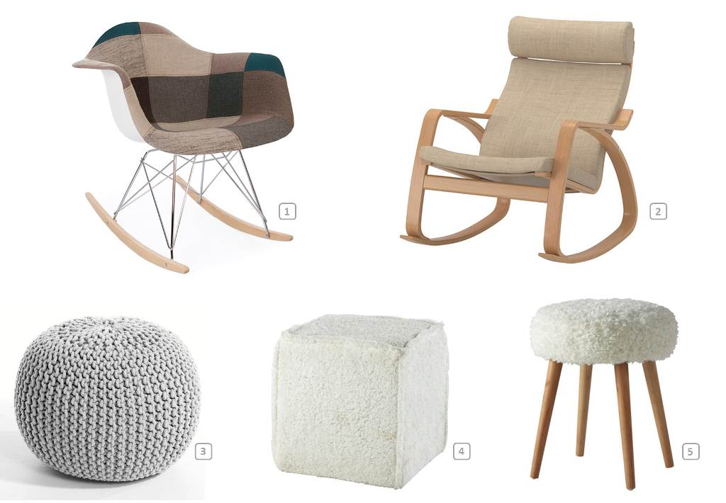 10 cocooning d cor ideas for your rental bnbstaging le blog - Fauteuil rockincher ikea ...