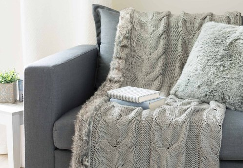 10 cocooning d cor ideas for your rental bnbstaging le blog - Jete de lit maison du monde ...