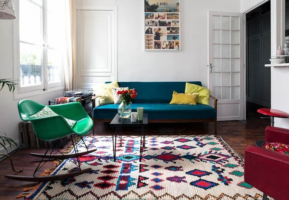 Malty photographe, colourful rug