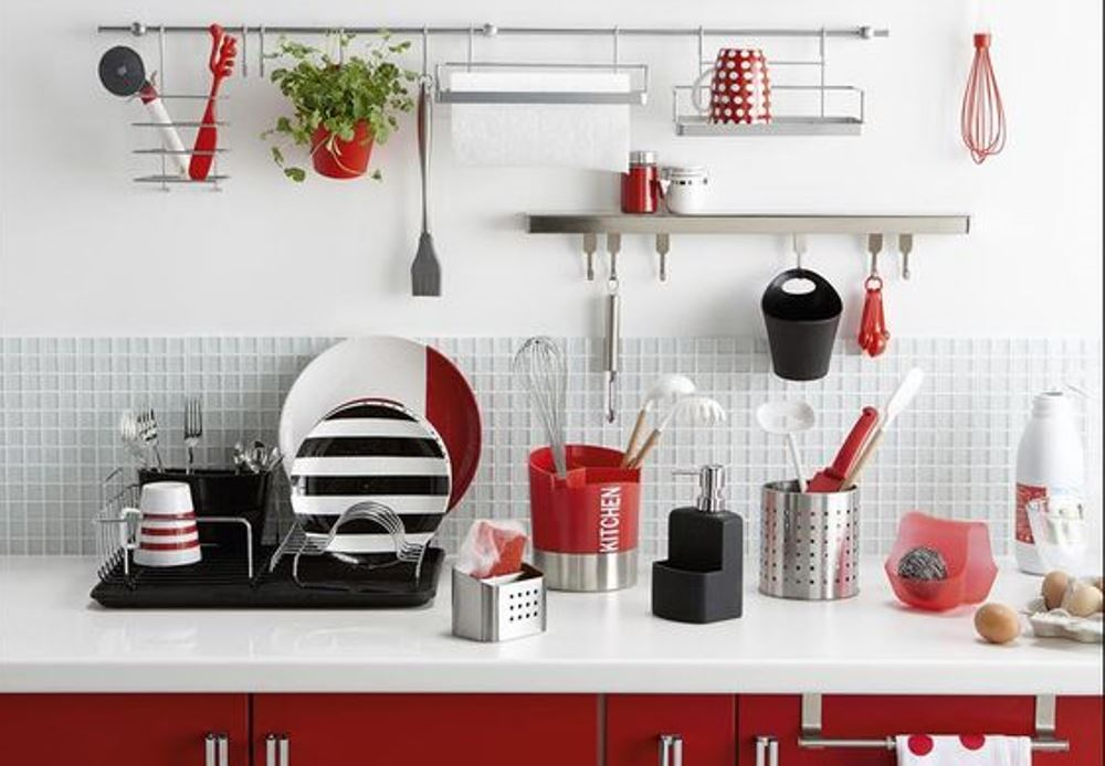 leroy merlin, colourful kitchen accessories