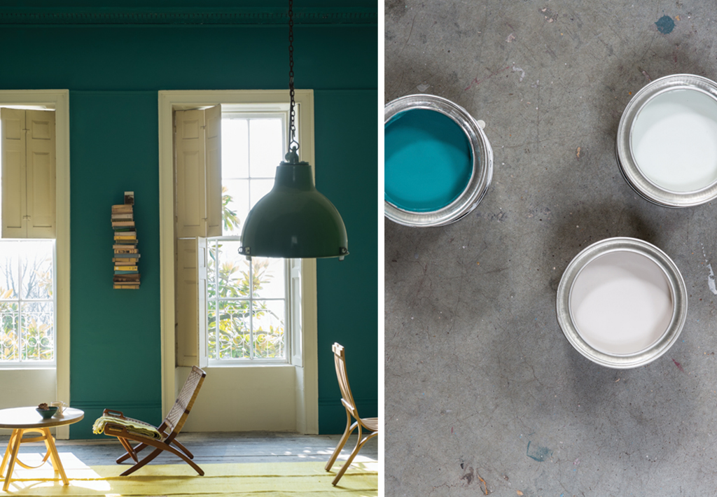 Vardo Painting from Farrow and Ball