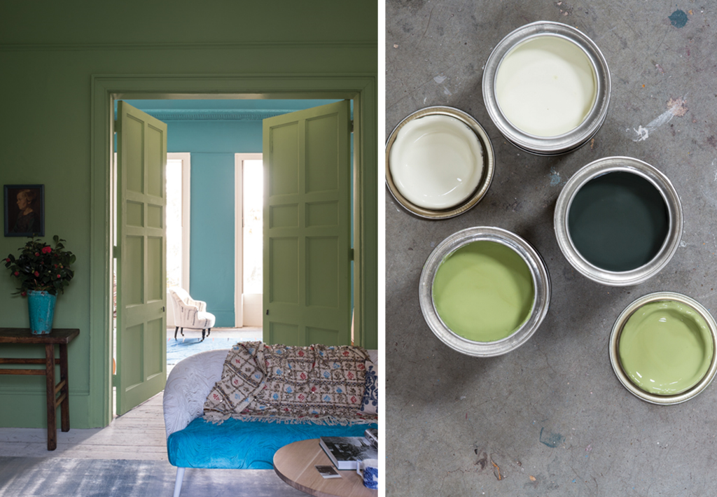 Yeabridge green Painting from Farrow and Ball