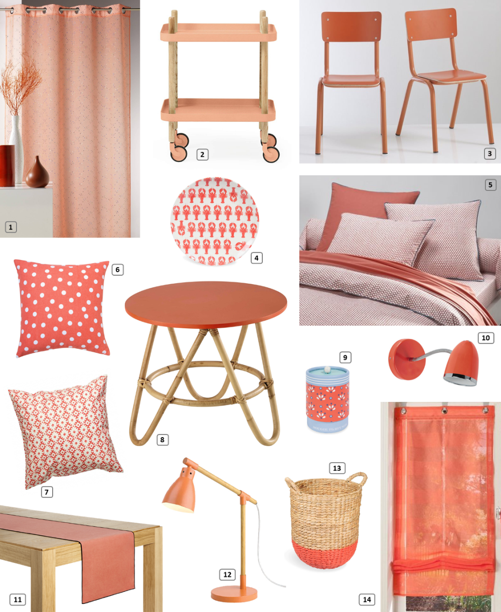 Shopping selection of coral furniture and accessories for the home