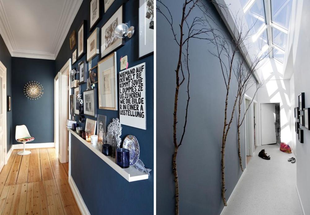 Deco corridor design: 13 ideas for corridor decoration and layout