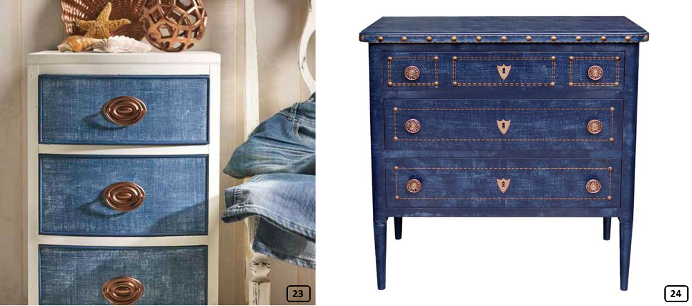 Jeans On Drawers Cabinets
