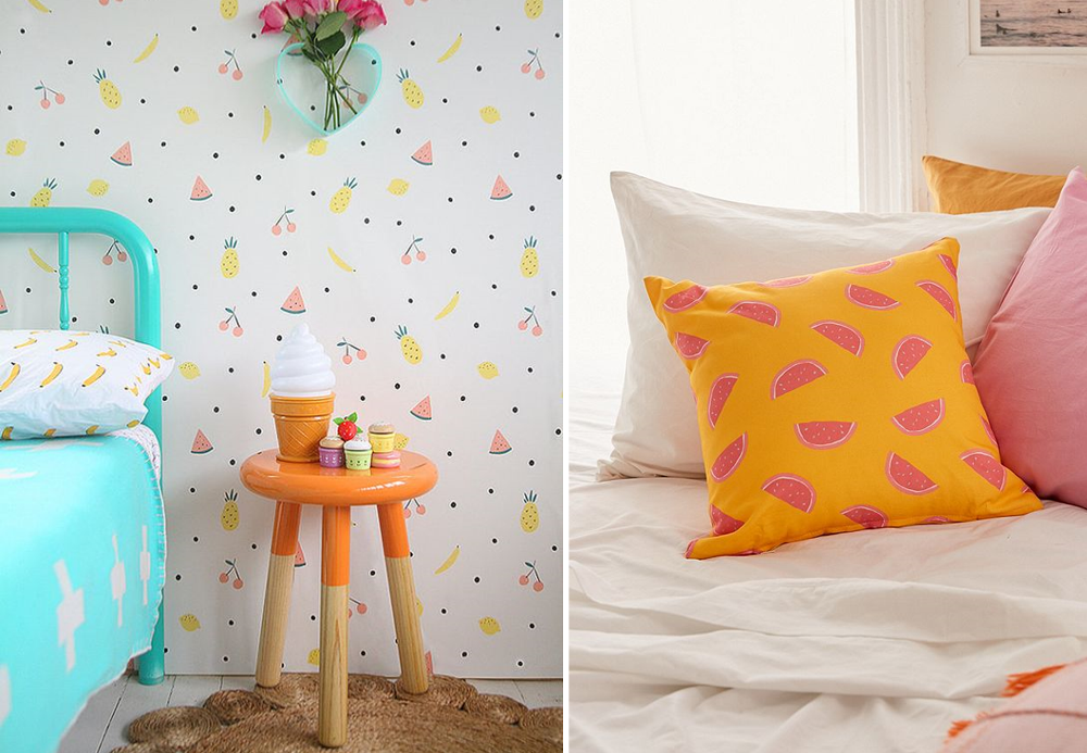 Fruity décor - BnbStaging le blog