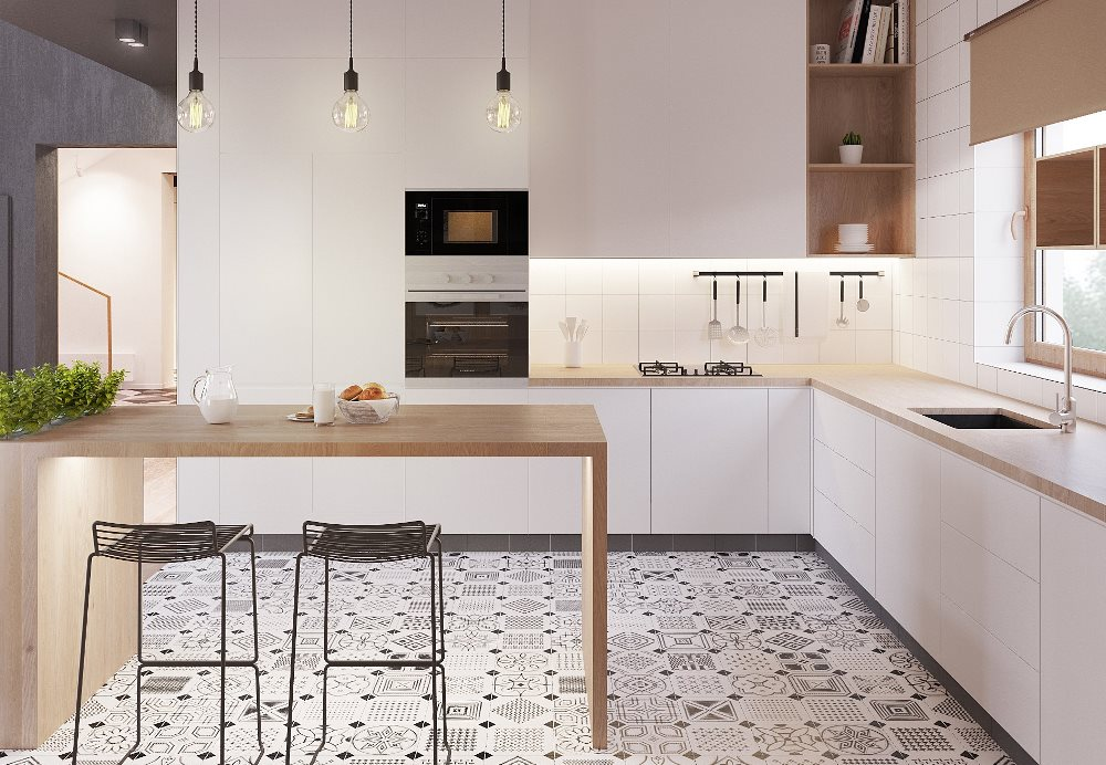Lagom trend, focus on quality materials in the kitchen