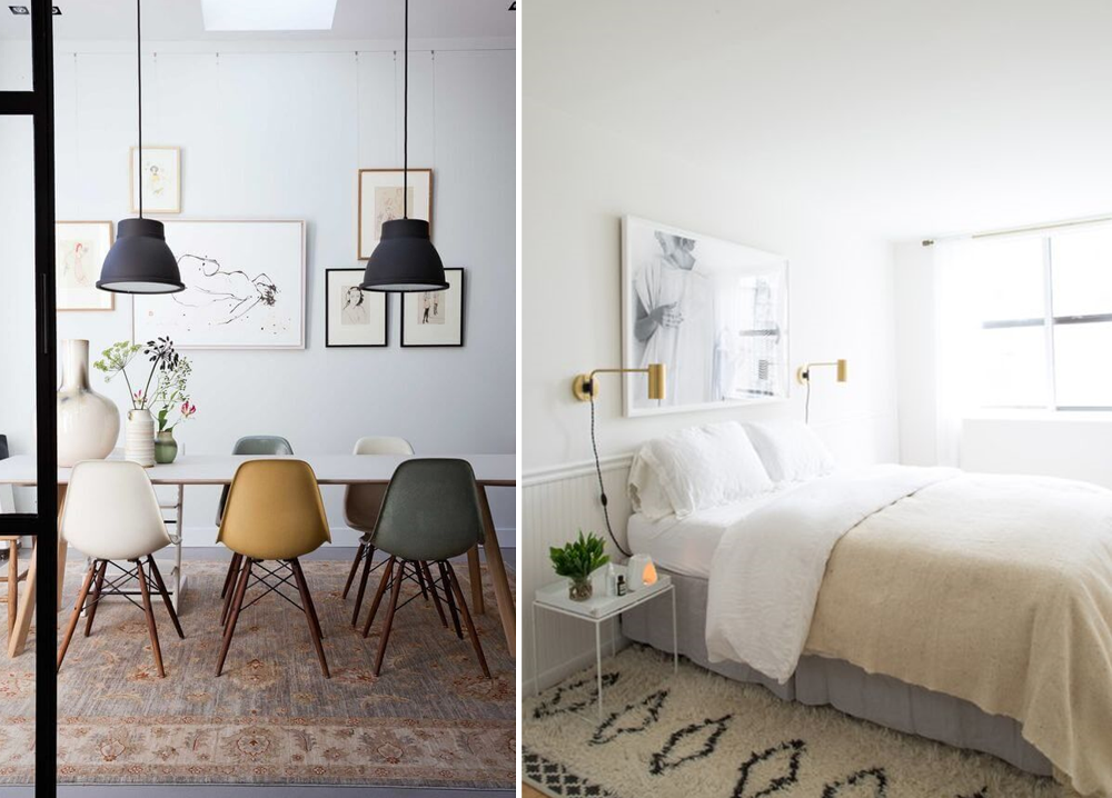 Lagom trend, sobriety in the decor