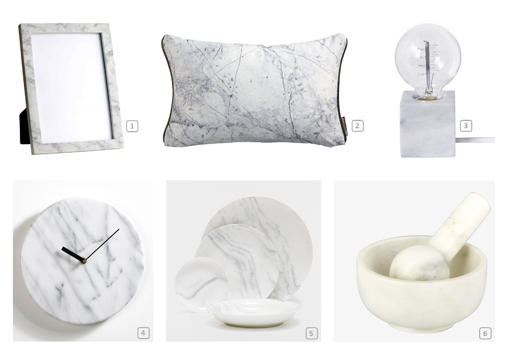 Home accessories in marble material 1