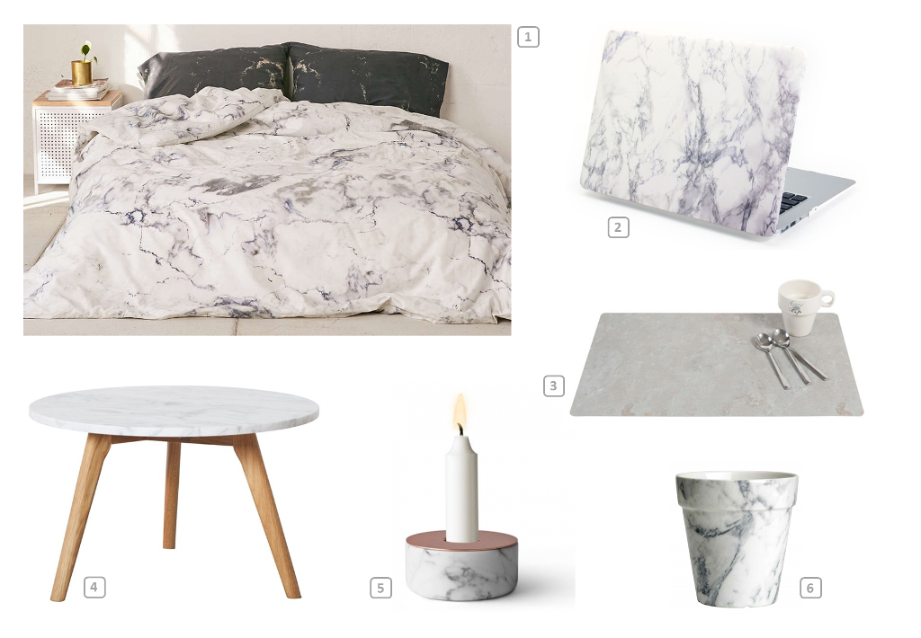 Home accessories in marble material 2