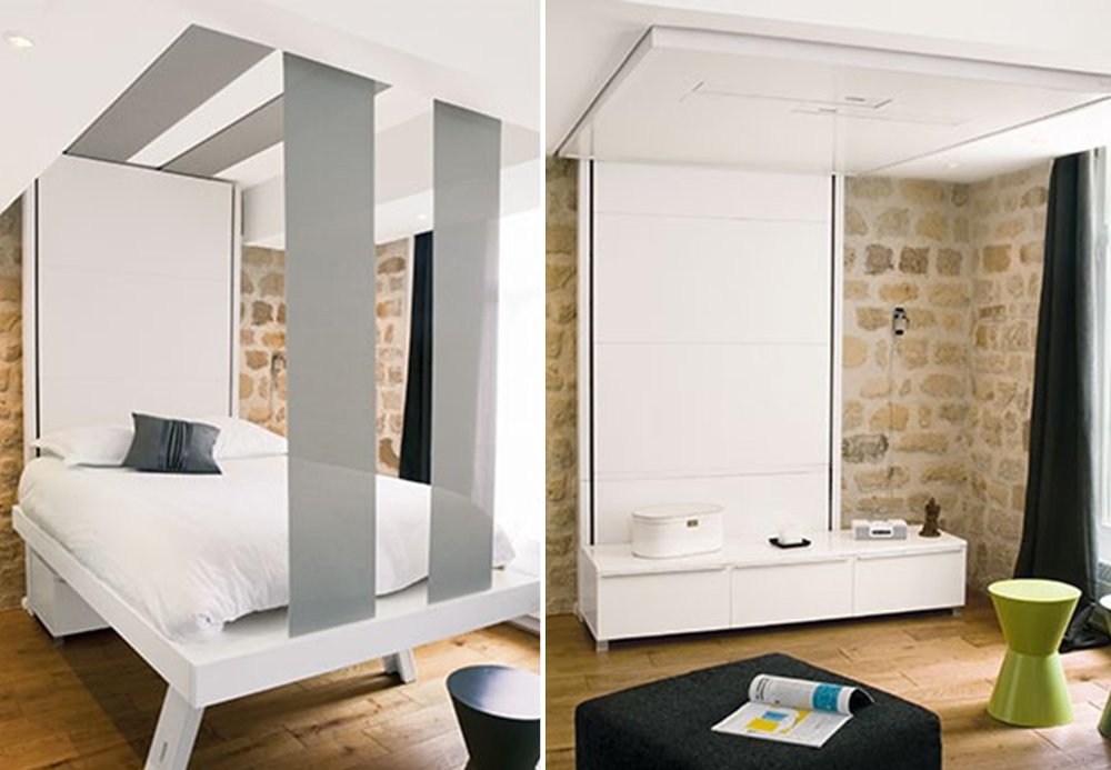 Retractable bed from Bed Up - BnbStaging le blog