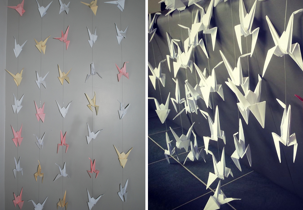 Inspiration decor with origami3