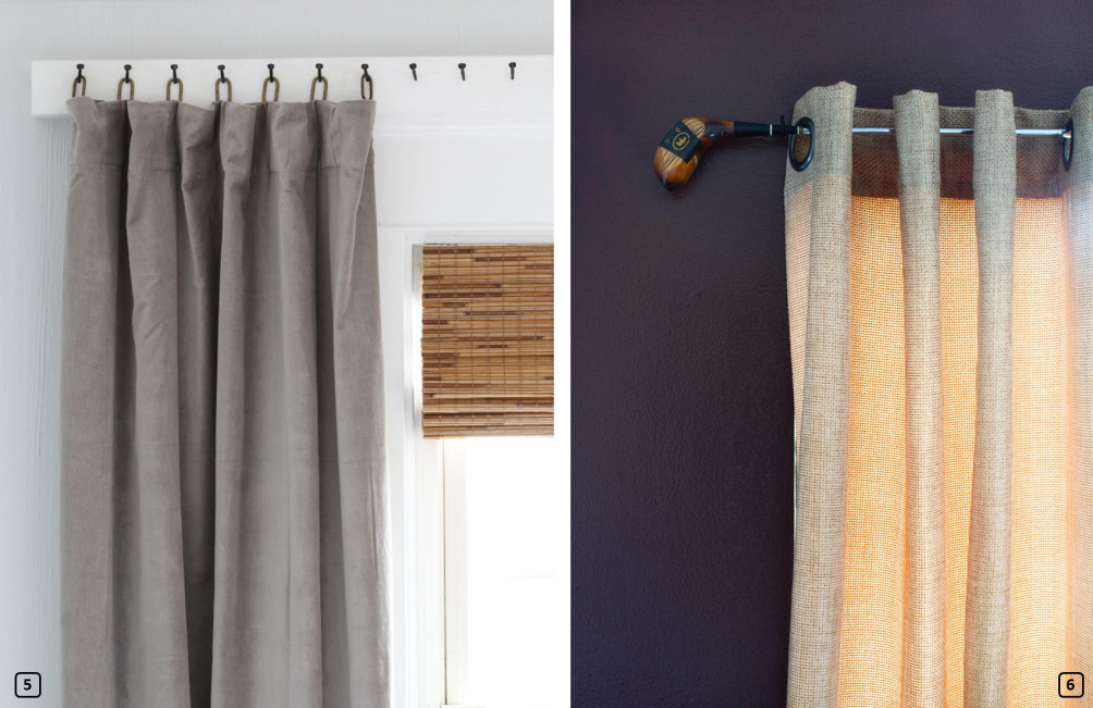 Curtain hanging ideas 2