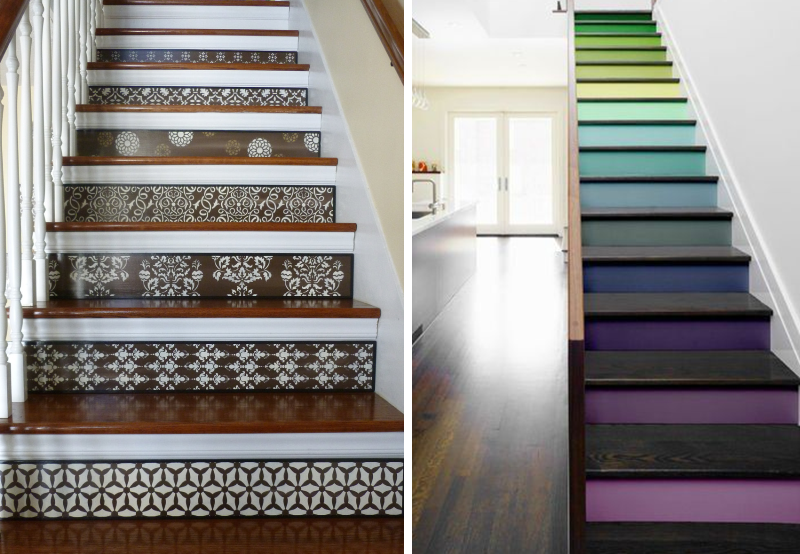 Stickers contremarche escalier maison design - Decoration contremarche escalier ...