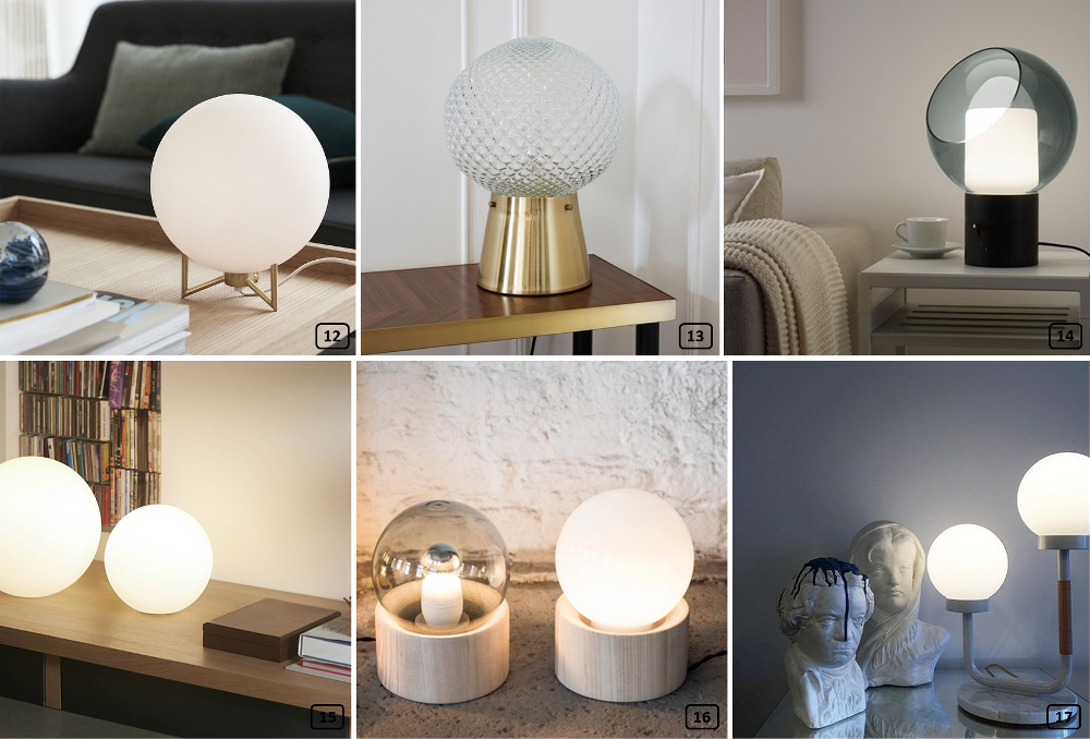 winter trend 2018 2019 the globe lamp bnbstaging the blog. Black Bedroom Furniture Sets. Home Design Ideas