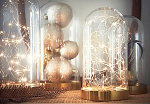 Garland lights decor, Ikea - BnbStaging the blog