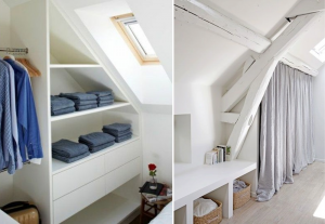 Storage in attics - BnbStaging le blog