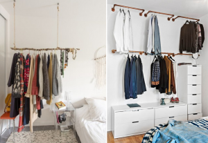 Original clothing racks - BnbStaging the blog