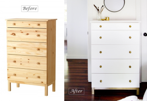 Dresser, before and after - BnbStaging the blog
