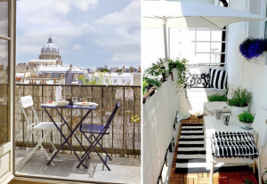 Tips for optimizing small balconies - BnbStaging the blog