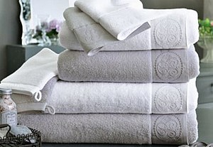 Towel set from Becquet