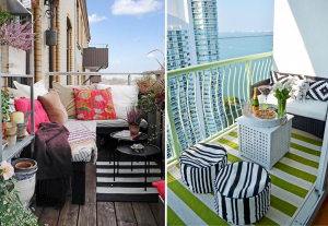 Lounge style balconies - BnbStaging the blog