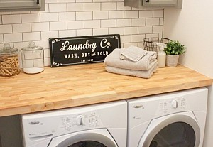 Laundry room, Gather and Flourish