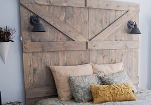 Little Yellow Barn upcycled headboard