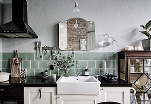 Upcycling in the kitchen, Entrance - BnbStaging the blog