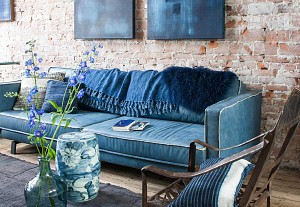 Denim trend in home decor, vtwonen