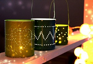 Home-made lanterns, Tête d'ange - BnbStaging le blog