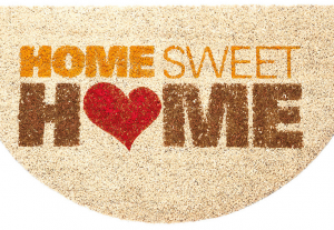 Customized doormat, Home Sweet Home