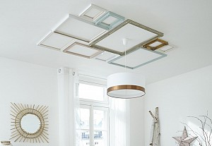Frames on ceiling, Leroy Merlin - BnbStaging le blog