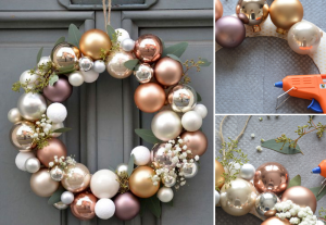 Homemade Christmas wreath - BnbStaging the blog