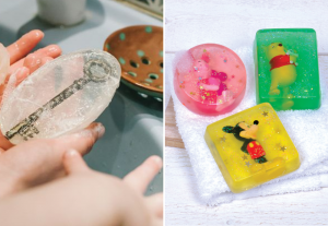 Home-made soaps with a suprise inside - BnbStaging the blog