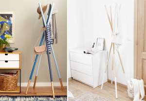 DIY Coat racks - BnbStaging the blog